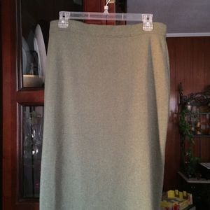 Other - Gispa Made in Italy Light Green Knit Skirt